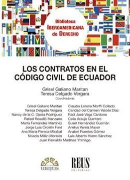 Los contratos en el Código civil de Ecuador, 2018