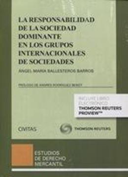 Responsabilidad de la sociedad dominante en los grupos internacionales de sociedades, 2018
