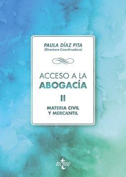 """Acceso a la abogacía, 2018 """"Volumen II. Materia civil y mercantil"""""""