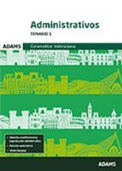 Imagen de Temario 1 Administrativos Generalitat Valenciana 2018