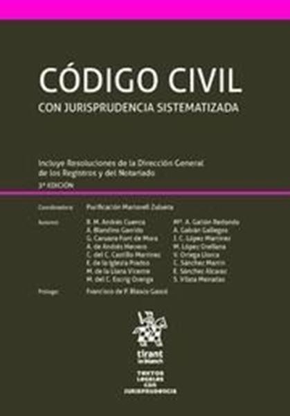 Imagen de Código Civil Con Jurisprudencia Sistematizada 3ª ed, 2018