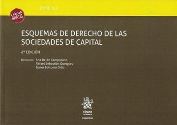 Imagen de Esquemas de derecho de las sociedades de capital 4ª ed, 2018