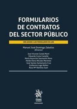 Imagen de Formularios de contratos del sector publico, 2018