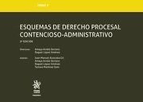 Imagen de Esquemas de derecho procesal contencioso-administrativo 3ª ed, 2018