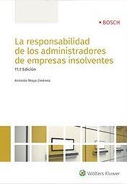 Imagen de Responsabilidad de los administradores de empresas insolventes, La, 2018