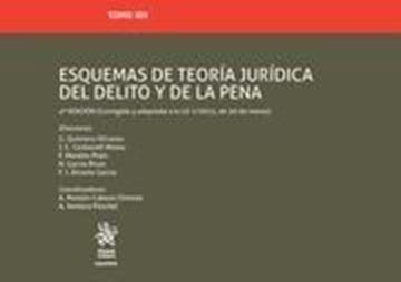 Imagen de Esquemas de Teoría Jurídica del delito y de la Pena 4ª ed, 2018