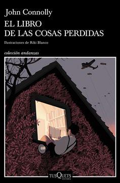 """Libro de las cosas perdidas, El """"Ilustraciones de Riki Blanco"""""""