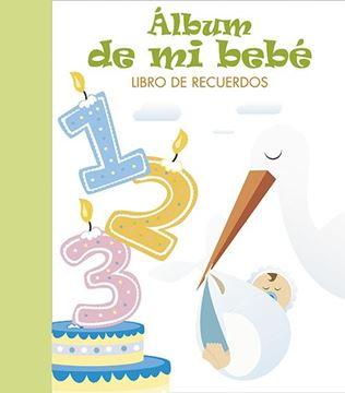 """Álbum de mi bebé """"Libro de recuerdos. VERDE"""""""
