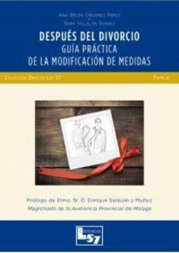 """Imagen de Después del divorcio, 2018 """"Guía práctica de la modificación de medidas"""""""