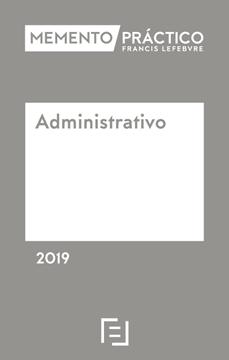 Imagen de Memento Práctico Administrativo 2019