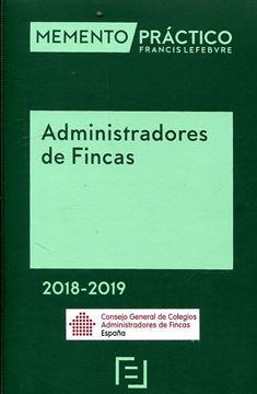 """Imagen de Memento Práctico Administradores de Fincas 2018-2019  """"Edición Especial CGCAFE"""""""