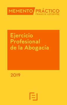 Imagen de Memento Ejercicio Profesional de la Abogacía 2019