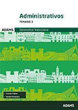 Imagen de Temario 3 Administrativos Generalitat Valenciana 2018