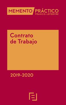 Imagen de Memento Contrato de Trabajo 2019-2020