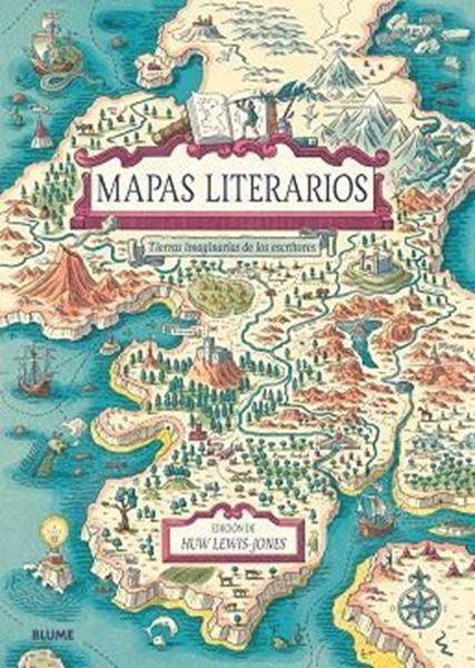 """Imagen de Mapas literarios, 2018 """"Tierras imaginarias de los escritores"""""""