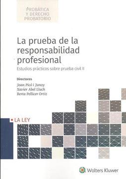 """Imagen de Prueba de la responsabilidad profesional, La """"Estudios prácticos sobre prueba civil II"""""""