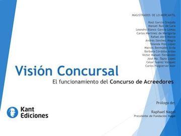 """Imagen de Visión Concursal, 2018 """"El funcionario del concurso de acreedores"""""""