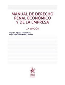 Imagen de Manual de derecho penal económico y de la empresa 2ª ed, 2018