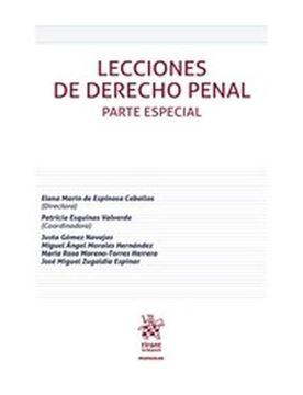 Imagen de Lecciones de derecho penal. Parte Especial 2018
