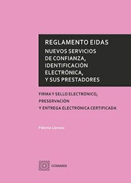"""Imagen de Reglamento Eidas """"Nuevos servicios de confianza, identificació electrónica, y sus prestadores"""""""