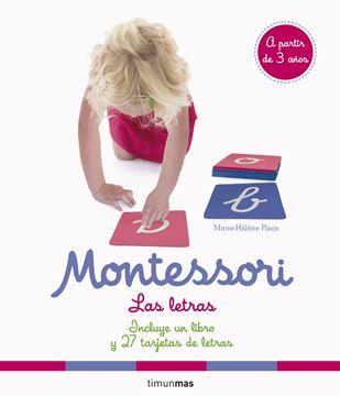"""Montessori. Las letras """"Incluye un libro y 27 tarjetas de letras"""""""