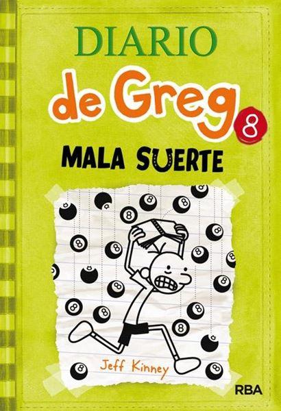 """Diario de Greg, 8 """"Mala Suerte"""""""