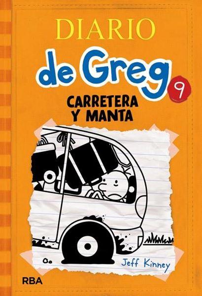 """Diario de Greg 9 """"Carretera y manta"""""""