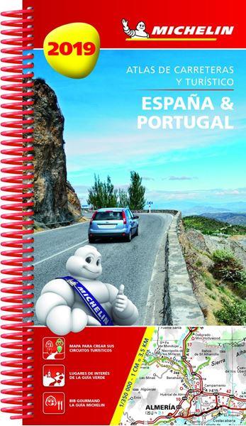 Atlas de Carreteras y Turístico de España & Portugal 2019