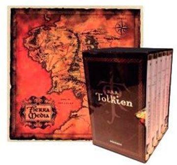 Imagen de Estuche Tolkien 6 vols. + mapa + postales