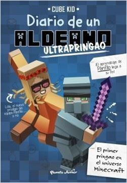 Imagen de Minecraft. Diario de un aldeano ultrapringao
