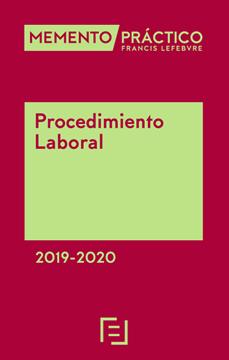 Imagen de Memento Práctico Procedimiento Laboral  2019-2020