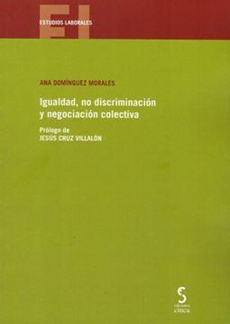 Imagen de Igualdad, no discriminación y negociación colectiva, 2018
