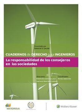 """Imagen de Cuadernos de Derecho para Ingenieros (n.º 44) """"La responsabilidad de los consejeros en las sociedades"""""""