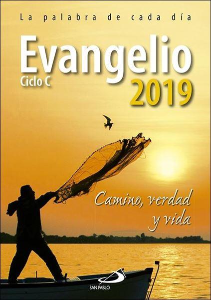 """Evangelio 2019 letra grande """"Camino, Verdad y Vida. Ciclo C"""""""