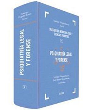 """Imagen de Psiquiatría Legal y Forense """"Tratado de Medicina Legal y Ciencias Forenses V"""""""