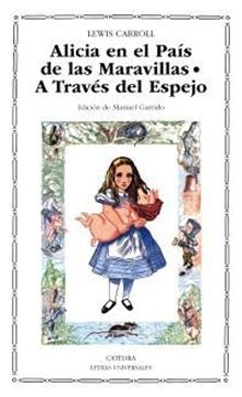 """Imagen de Alicia en el país de las maravillas """"a través del espejo"""""""
