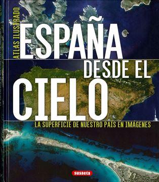 """Imagen de España desde el cielo """"Atlas ilustrado"""""""
