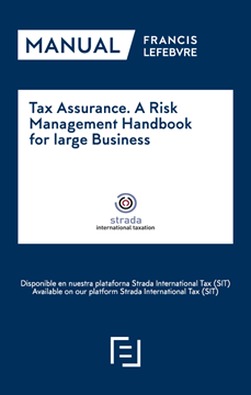 "Imagen de Tax Assurance. A Risk Management Handbook for large Business, 2018 ""Colección Strada"""