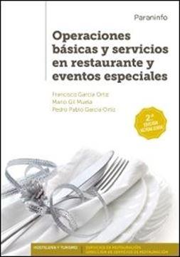 Operaciones básicas y servicios en restaurante y eventos especiales