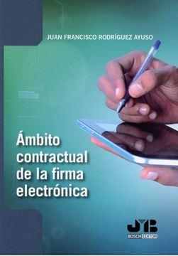 Imagen de Ámbito contractual de la firma electrónica, 2018