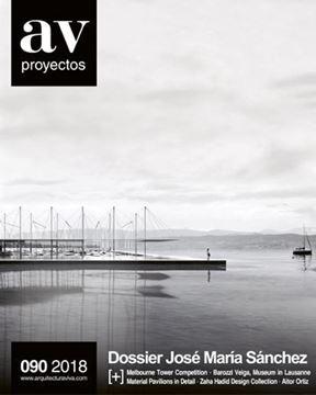"""Imagen de AV proyectos num. 090 (2018) """"Dossier José María Sánchez"""""""