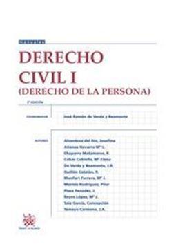 Imagen de Derecho civil I. (Derecho de la persona) 2016