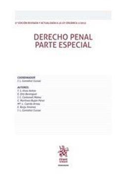 Imagen de Derecho penal parte especial, 5ª  2016
