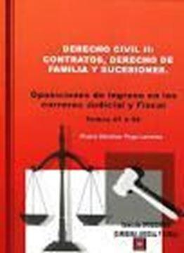 """Imagen de Derecho civil II: Contratos, Derecho de Familia y Sucesiones, 2018 """"Oposiciones de ingreso en las carreras Judicial y Fiscal. Temas 47 a 92"""""""