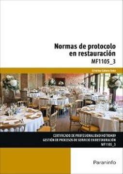 Normas de protocolo en restauración