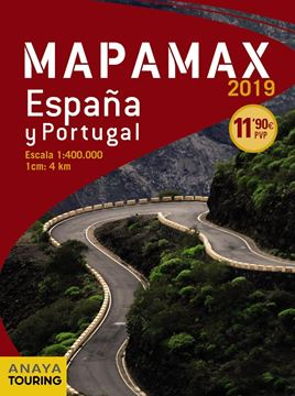 Mapamax . España y Portugal. Escala 1:400,000. 2019