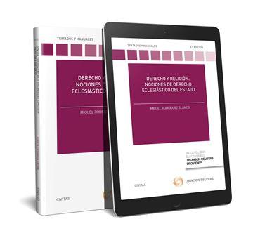 Derecho y religión. Nociones de derecho eclesiástico del estado, 2ª ed, 2018