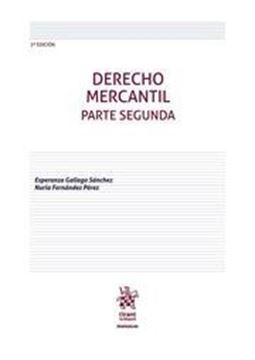Imagen de Derecho Mercantil. Parte Segunda 3ª ed, 2019