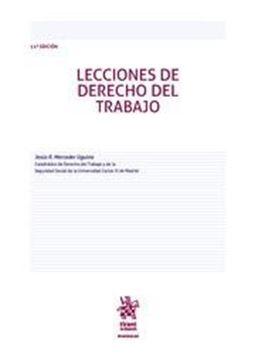 Imagen de Lecciones de Derecho del Trabajo 11ª ed, 2018