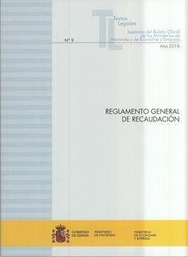 """Reglamento general de recaudación """"Actualización noviembre 2018"""""""